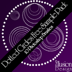 Dotted Circles Sample Pack by hayzeleyes