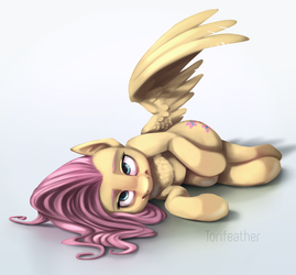 Lying Shy by Torifeather