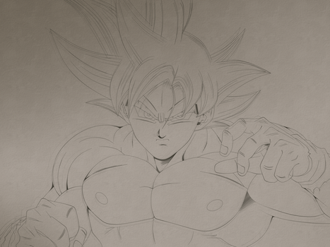 Son Goku migatte no gokui by Monstkem