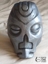 Skyrim : Vokun Mask 01 by BlackOwlStudio