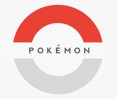 Pokemon Logo Minimalist by SPikEtheSWeDe