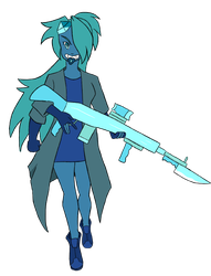 [Art Trade] Turquoise - Steven Universe Fusion OC by Pwny-boy