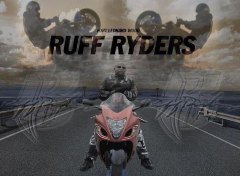 Photoshop Ruff Ryder's Poster by BriceWhiteside