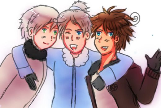 APH: Tatius, Male!Alexi and Marcus by SingerHeart16