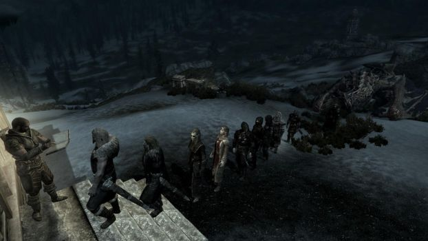 Party at the Dovahkiin. Part 1. The guest list by totalfreak2002