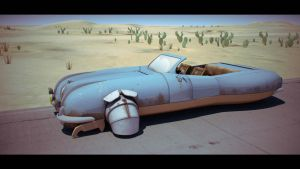 Desert Car 2 'Commercial Ad' by Artificialproduction