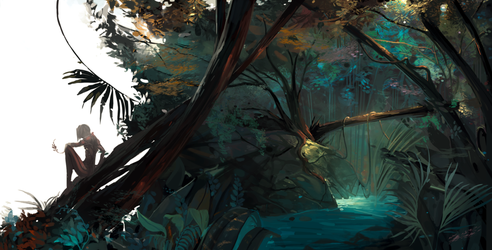 Forest by krhart