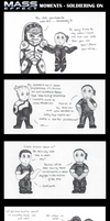 Mass Effect Moments - Soldiering On by Skyflower51