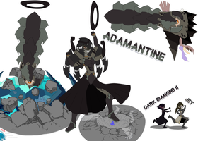 Dark Fusion - Adamantine by DarkPrinceHamlet