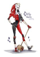 Harley Quinn Redesign by InsaneNudl