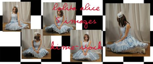 Lolita Alice 5 by kime-stock