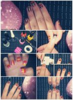 Nail ART Tutorial O4 by friabrisa