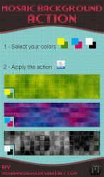 Mosaic Background Action by mohammed6651