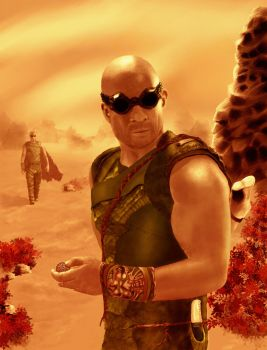 Riddick: Rule The Dark Contest Entry by Truley-Unruly