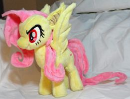 Flutterbat with Glow in the dark eyes by Cryptic-Enigma