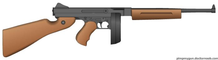 thompson smg modified by crimsonthunder1995