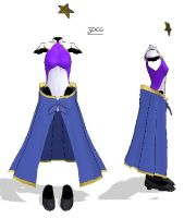 3DCG- Gundam gown-DOWNLOAD by MMDFakewings18