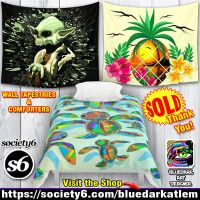 Wall Tapestries and Comforters SOLD! Thank You! by Bluedarkat