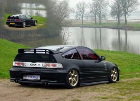 Honda CRX by Boban031