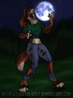OSC: Law of Lycanthropy: Lindsey by JakkalWolf