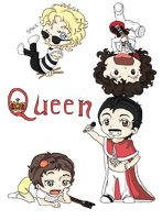 Chibi QUEEN by winchick