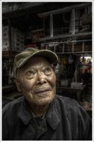 The Old man of Tsukiji by Graphylight