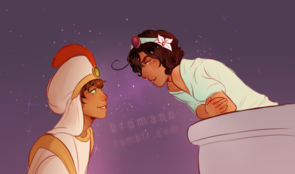 aph : a whole new world by romanope