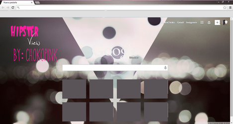 Hipster View for Google Chrome by ChokoPink