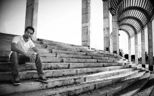 Raeed at Dammam Corniche by NasserRadi