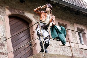 Eren Yeager - Watch out by Devil-Kasai