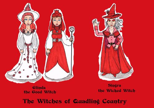The Quadling Witches of Oz (South) by SCDoctor