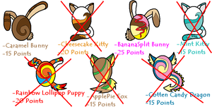 .:Mystery Egg Adopts 2:. by Emo-Bunny15