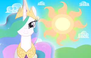 Celestia and the Sun by GrayTyphoon
