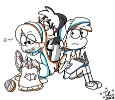 Gravity Falls - Gather by twinscover