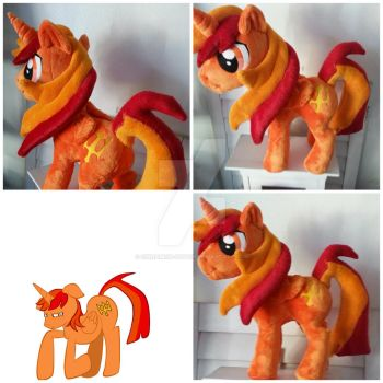 My little pony Plushie Commission by CINNAMON-STITCH
