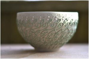 Chawan  Volute WIP by ClaireBriant