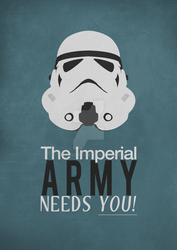 Imperial army needs YOU. by TJRDesigns