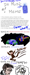 Music Meme: Doctor Who - 10 by InvisibleDuck