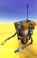 Lego Borderlands  Claptrap! WUP WUP! by Thatdudemaan