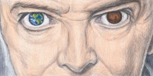 David Bowie's eyes by gagambo