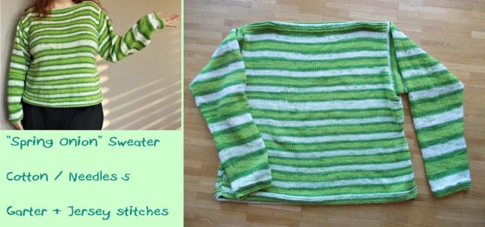 Spring Onion Sweater by MoonyMina