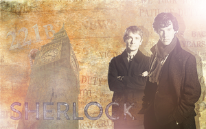 Sherlock Wallpaper by questrmwindow