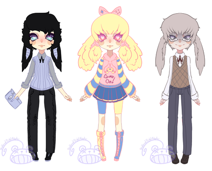 [Yandere Wild] Batch 2 by ShatteredSightAdopts