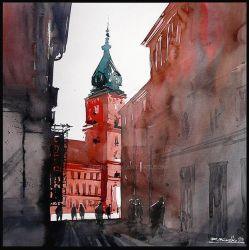 Old Town Warsaw by Kegriz