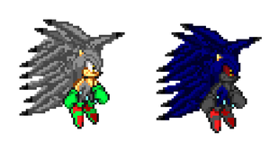 My Attempt at Making Kokoro Sonic Sprite Sheet by Exan-Animations