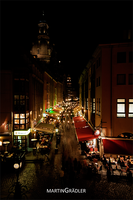 Dresden - Muenzgasse at night by real-creative
