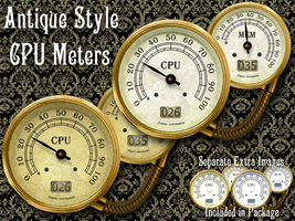 Antique CPU Meter by Elmer-BeFuddled