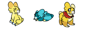 Mouseing Mog's Minis by Vulpix150
