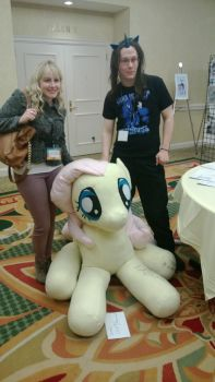 Andrea Libman, Fluttershy and Xion by ManeStreetPlush