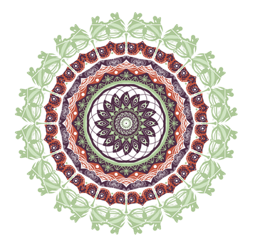 Mandala Project 011 by mandalagaba